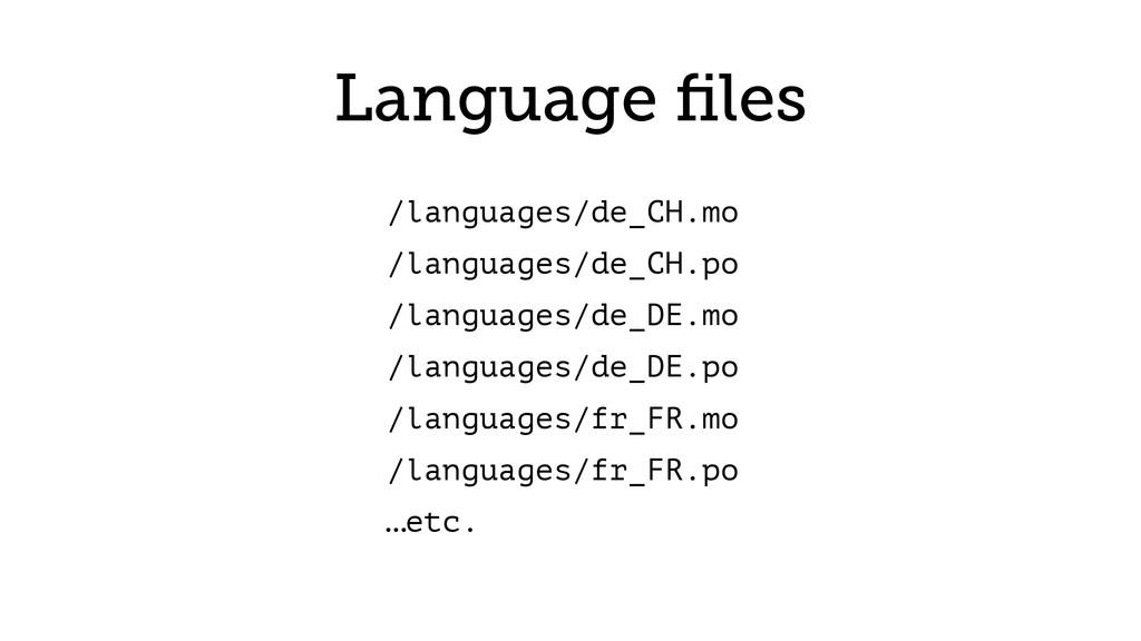 Language files /languages/de_CH.mo /languages/de...