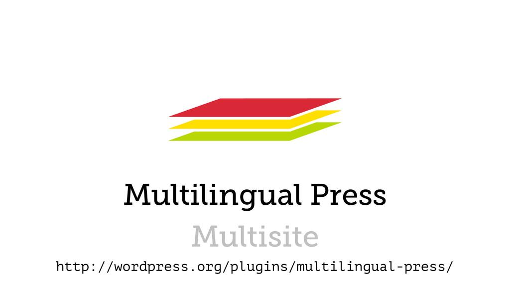 Multilingual Press Multisite http://wordpress.o...