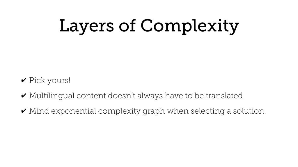 Layers of Complexity ✔ Pick yours! ✔ Multilingu...