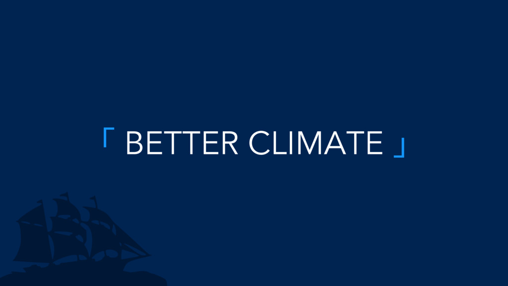 ̿ BETTER CLIMATE ̀