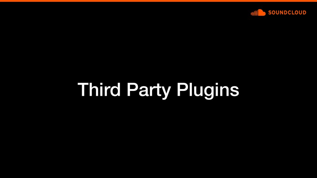 Third Party Plugins