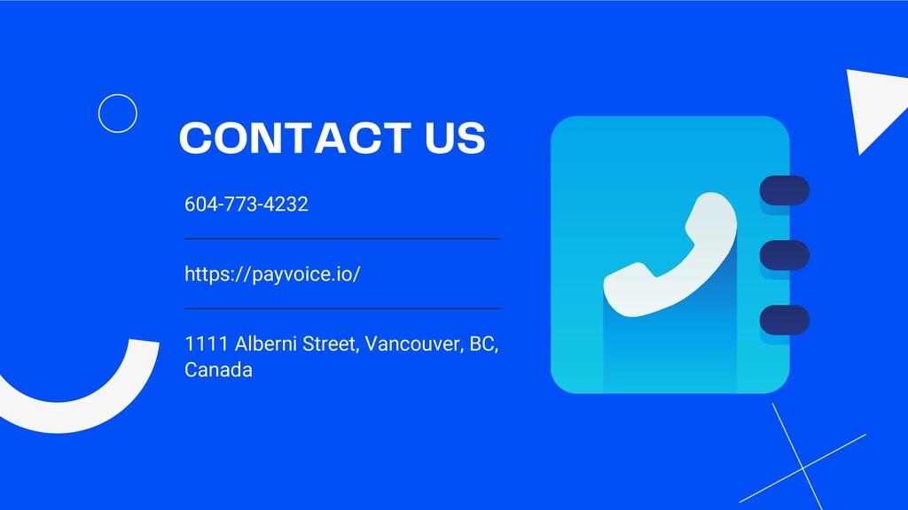 604-773-4232 https://payvoice.io/ 1111 Alberni ...