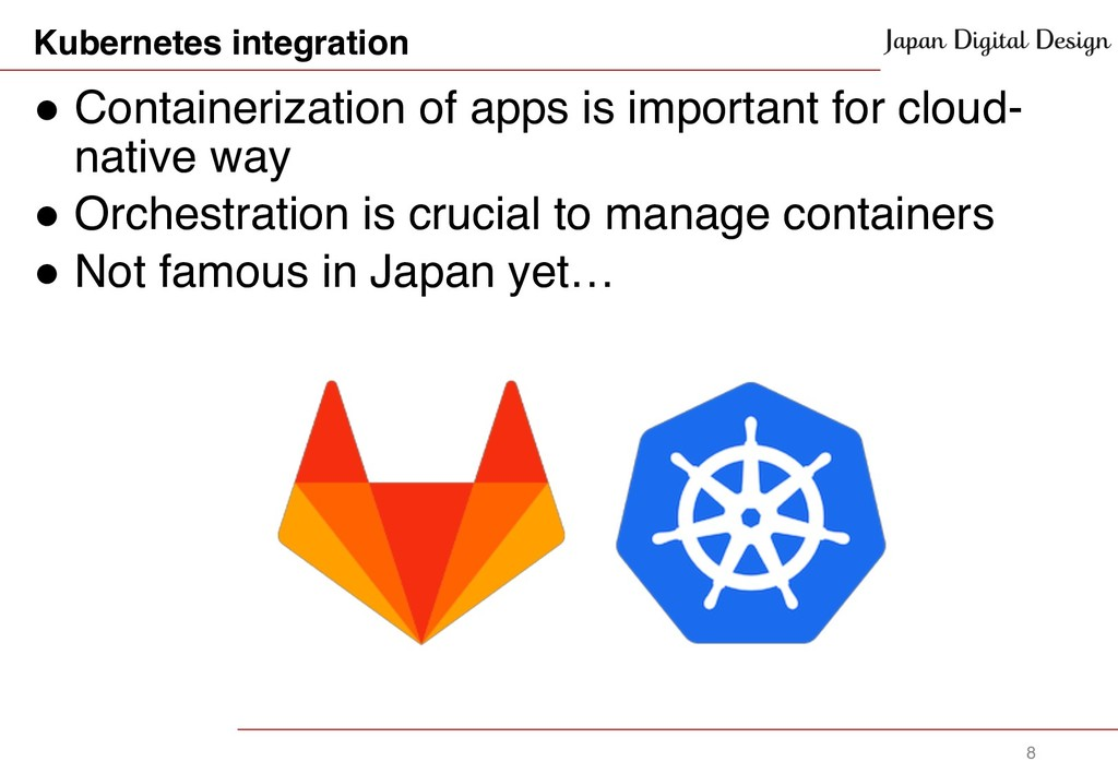 Kubernetes integration ! Containerization of ap...