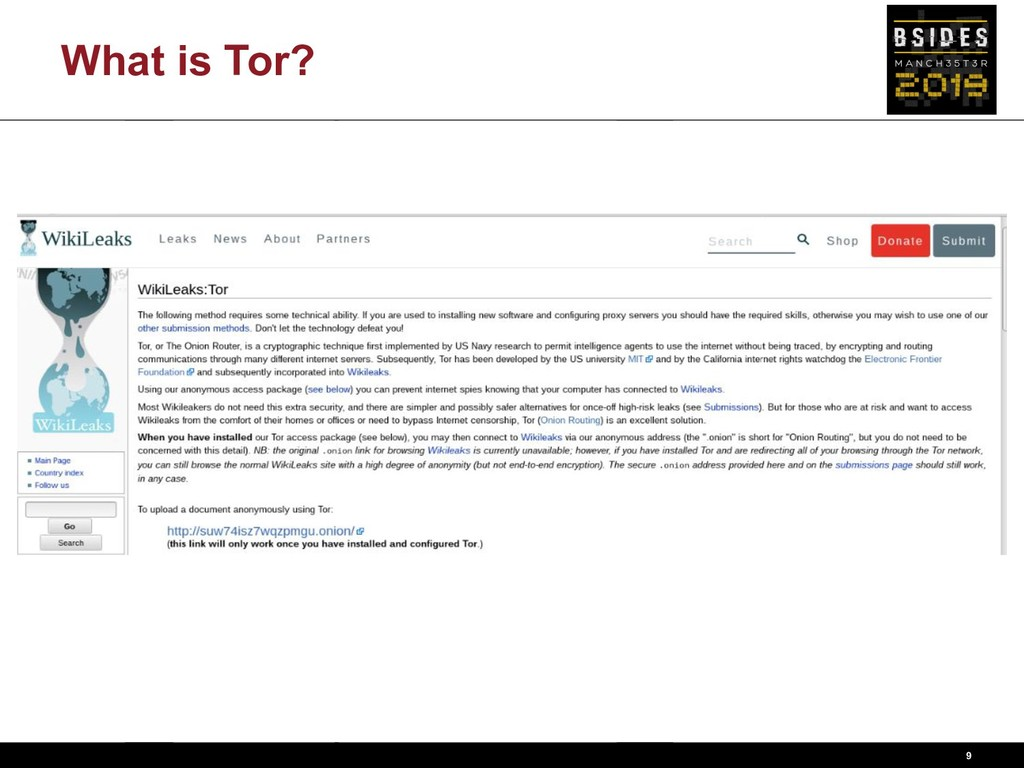 What is Tor? 9