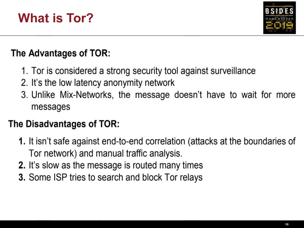 What is Tor? 10