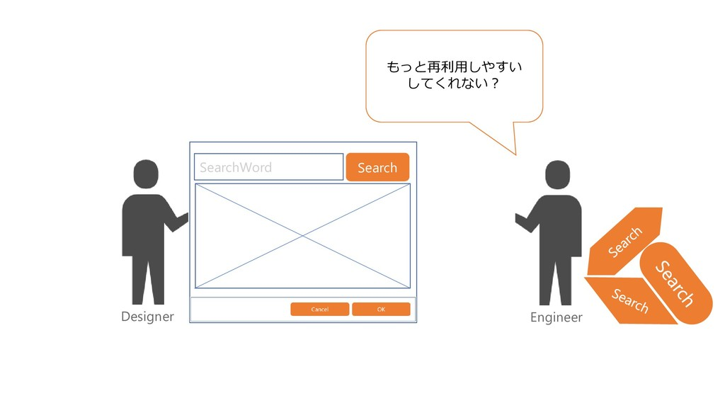 Designer Engineer Search SearchWord もっと再利用しやすい ...