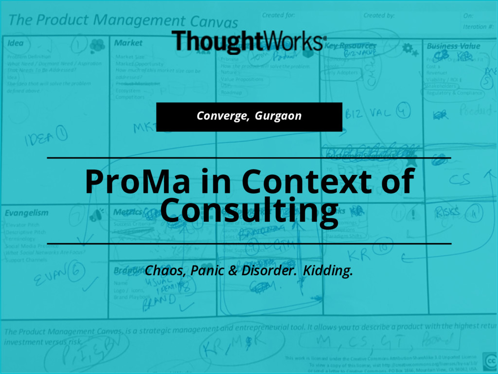 ProMa in Context of Consulting Converge, Gurgao...