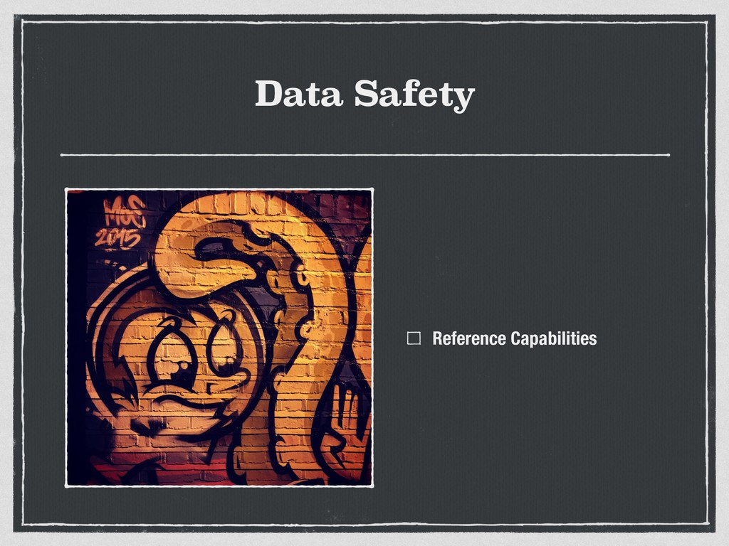 Data Safety Reference Capabilities