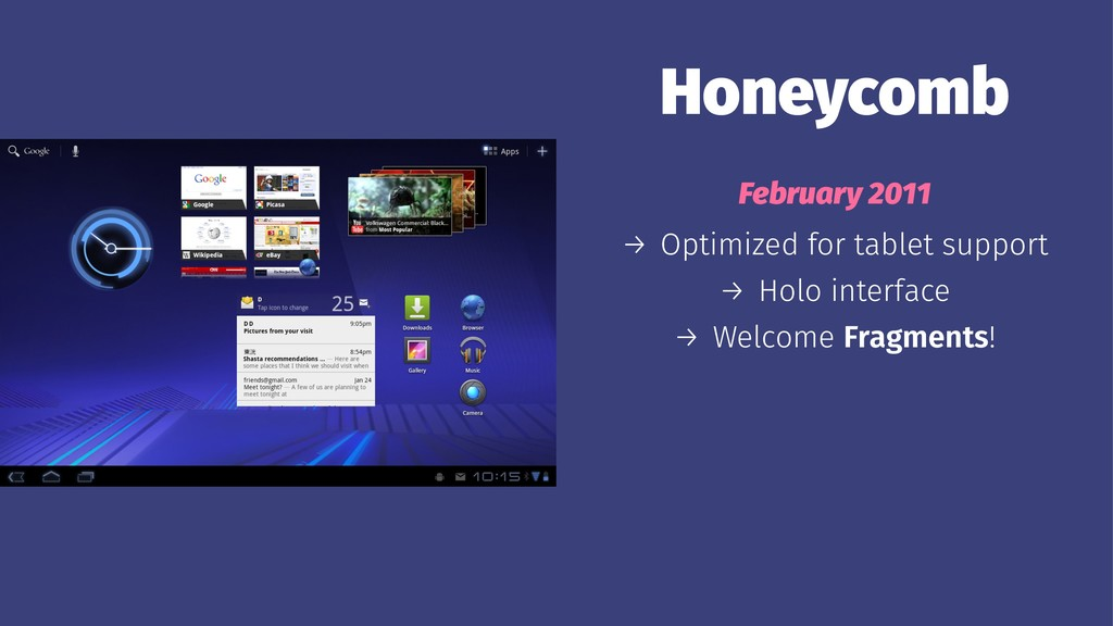 Honeycomb February 2011 → Optimized for tablet ...