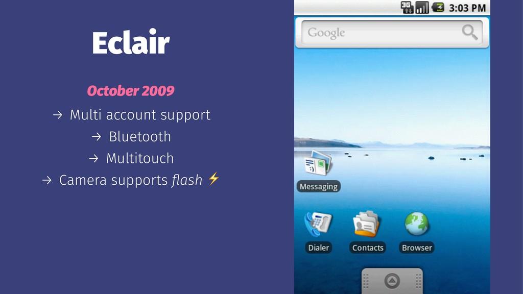 Eclair October 2009 → Multi account support → B...