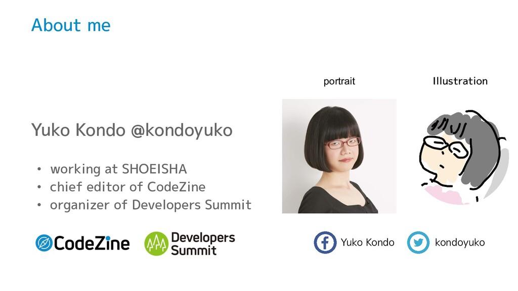 Yuko Kondo    kondoyuko About me Yuko Kondo @ko...