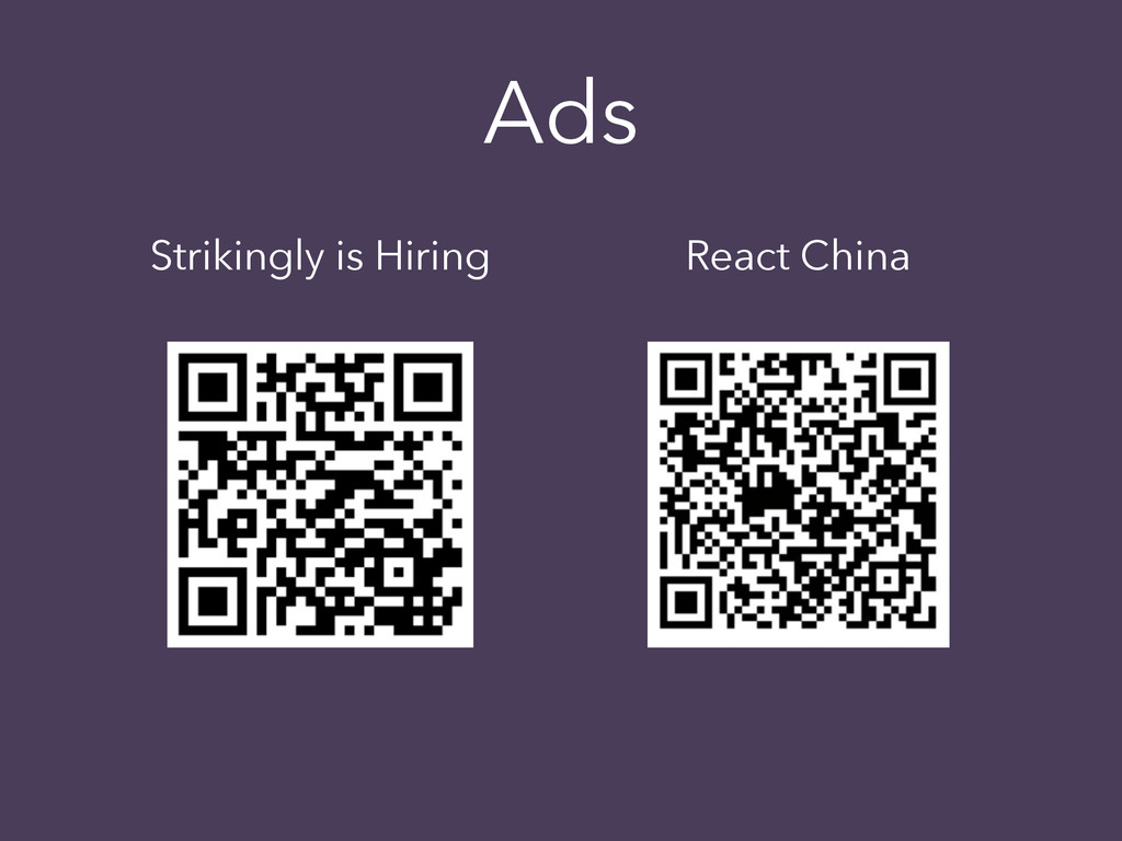 Strikingly is Hiring Ads React China