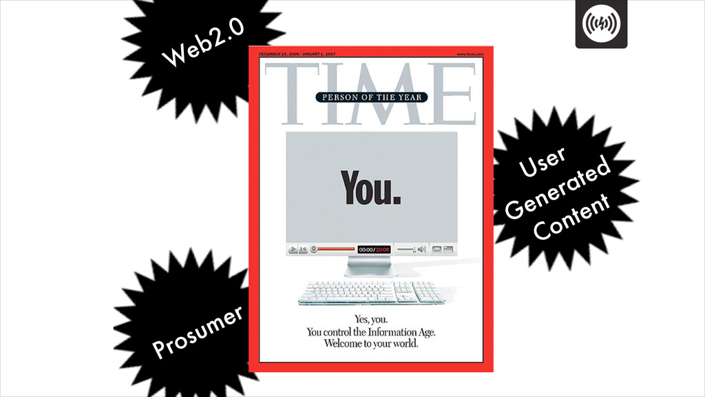 Web2.0 Prosumer User Generated Content