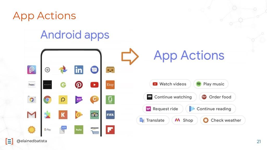 @elainedbatista App Actions 21