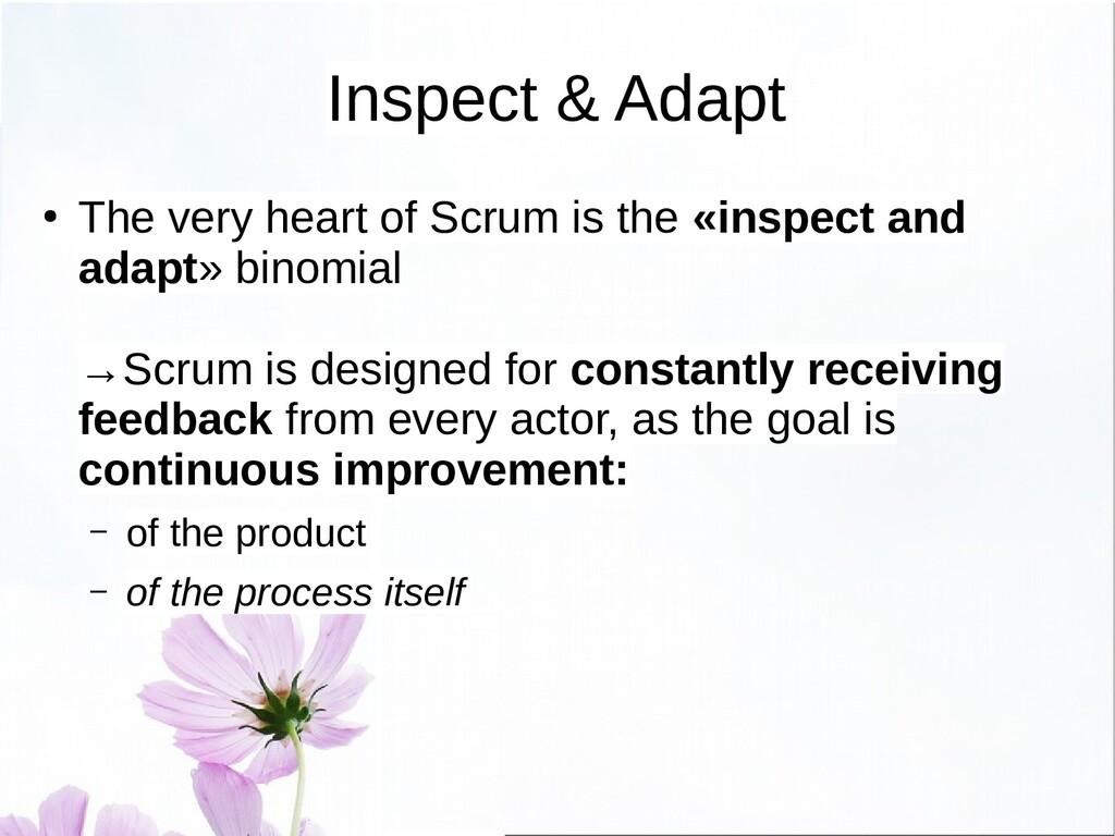 History of Scrum ● The empiricist heart of Scru...