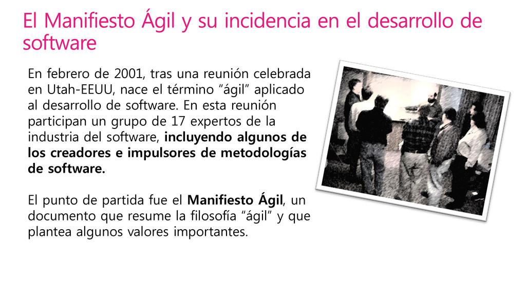 En febrero de 2001, tras una reunión celebrada ...