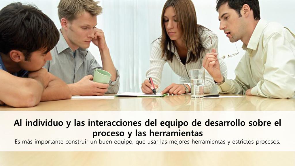 Al individuo y las interacciones del equipo de ...