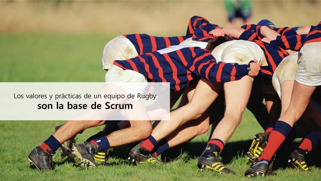 Los valores y prácticas de un equipo de Rugby s...