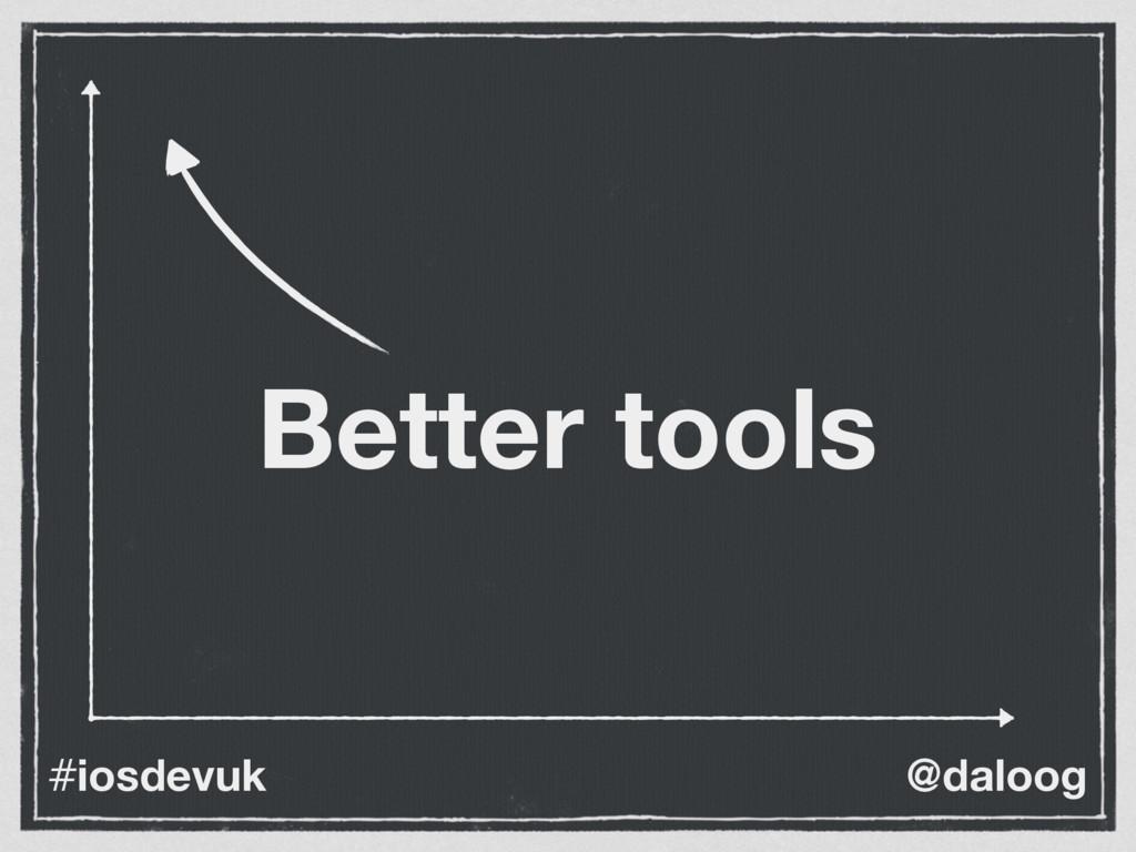 @daloog #iosdevuk Better tools
