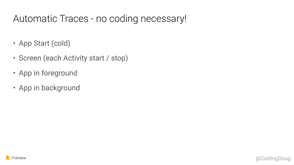 Automatic Traces - no coding necessary! • App S...