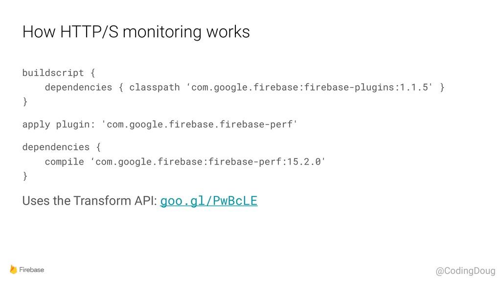 How HTTP/S monitoring works buildscript { depe...