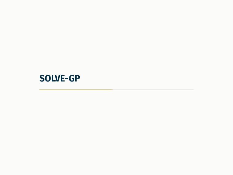 SOLVE-GP