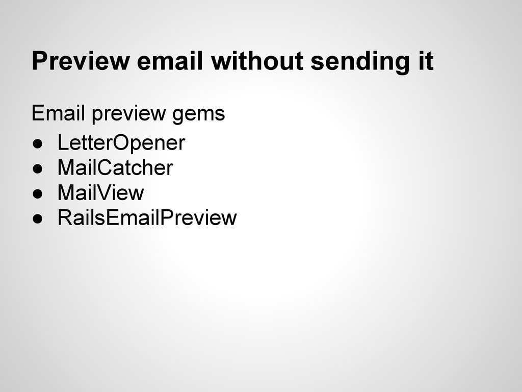 Preview email without sending it Email preview ...