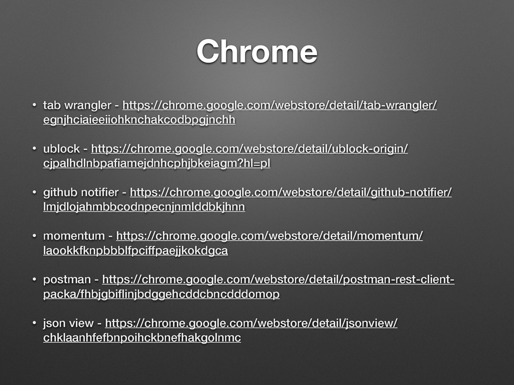 Chrome • tab wrangler - https://chrome.google.c...