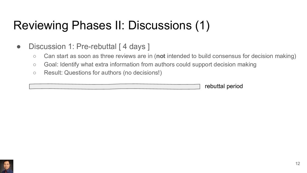 Reviewing Phases II: Discussions (1) ● Discussi...