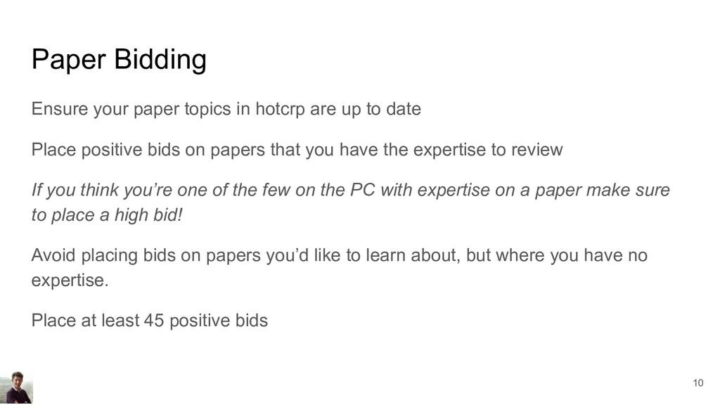 Paper Bidding Ensure your paper topics in hotcr...