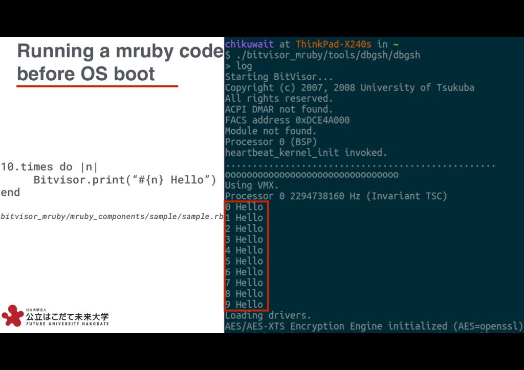 10 10 Running a mruby code before OS boot 10.ti...