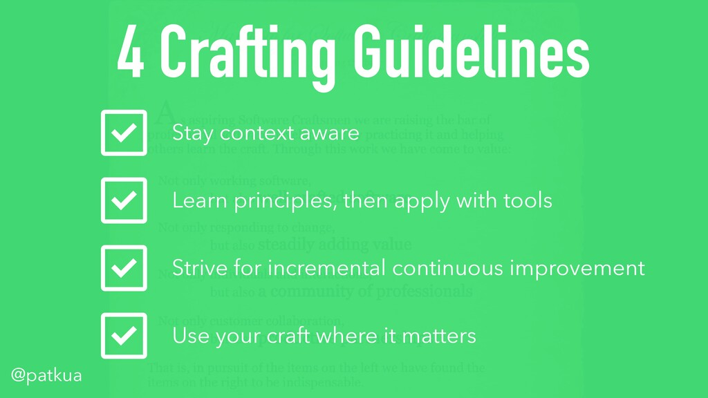@patkua 4 Crafting Guidelines Stay context awar...