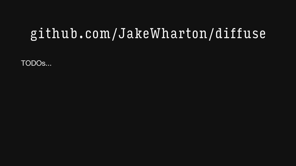 github.com/JakeWharton/diffuse TODOs...