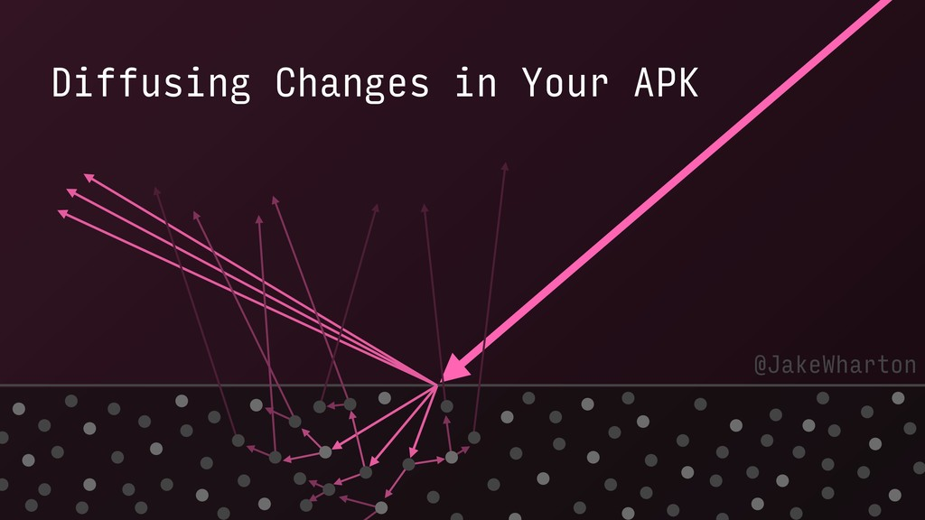 Diffusing Changes in Your APK @JakeWharton