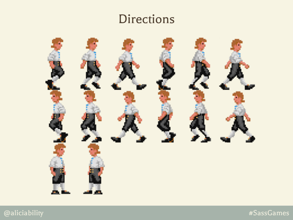 @aliciability #SassGames Directions