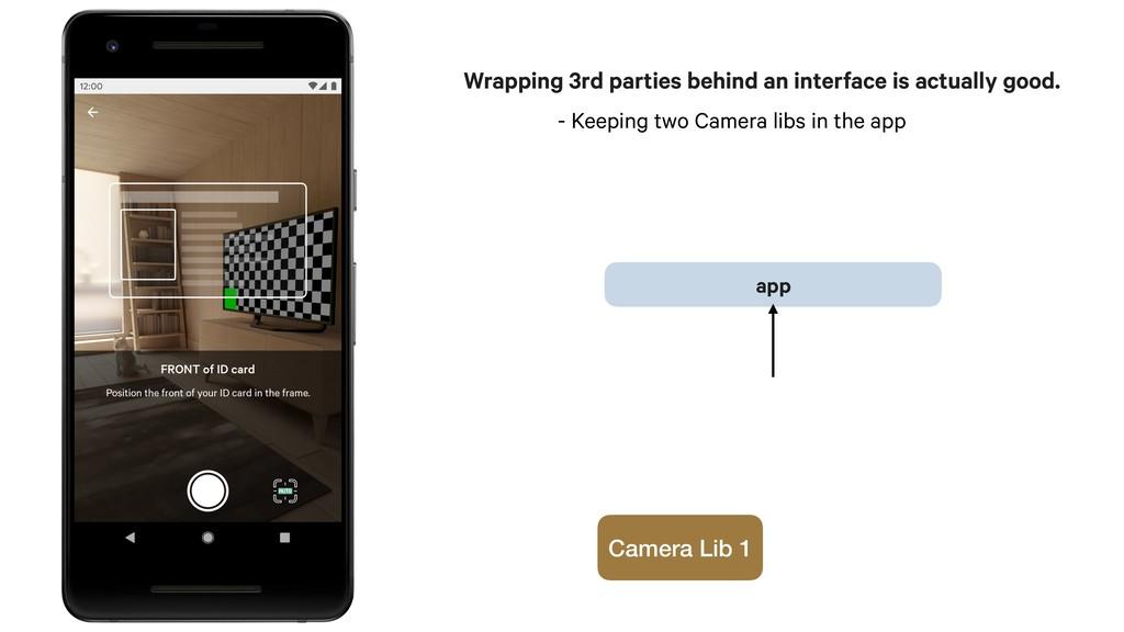 app Camera Lib 1 - Keeping two Camera libs in t...
