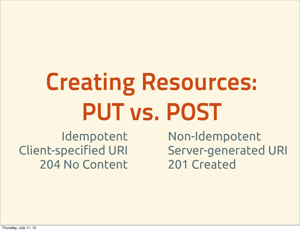 Creating Resources: PUT vs. POST Idempotent Cli...