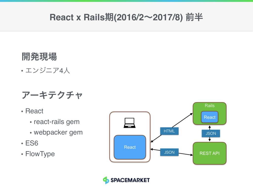 ΤϯδχΞ4ਓ ։ൃݱ React react-rails gem webpacker ge...