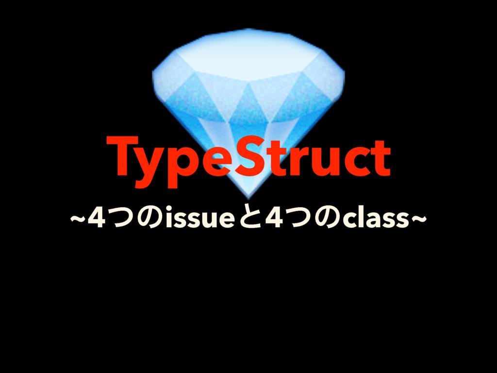 ~4ͭͷissueͱ4ͭͷclass~ TypeStruct