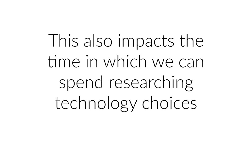 This also impacts the Ume in which we can spend...