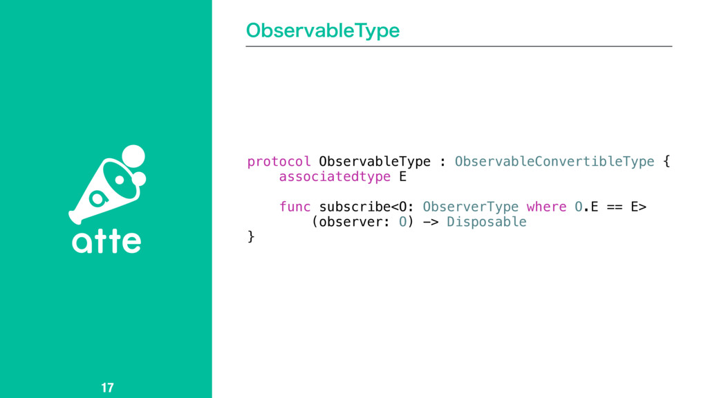 0CTFSWBCMF5ZQF 17 protocol ObservableType : Obs...