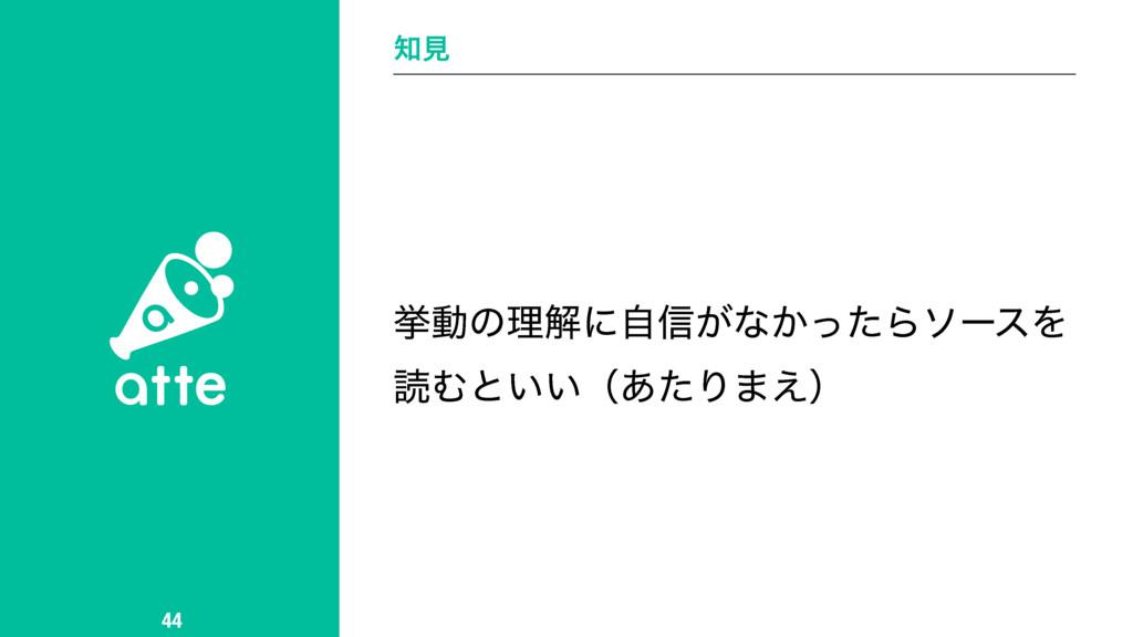 ݟ 44 ڍಈͷཧղʹࣗ৴͕ͳ͔ͬͨΒιʔεΛ ಡΉͱ͍͍ʢ͋ͨΓ·͑ʣ