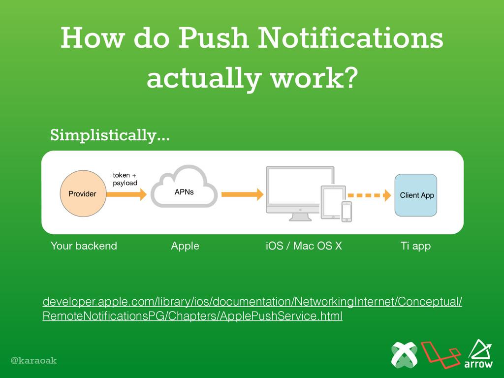 @karaoak How do Push Notifications actually wor...