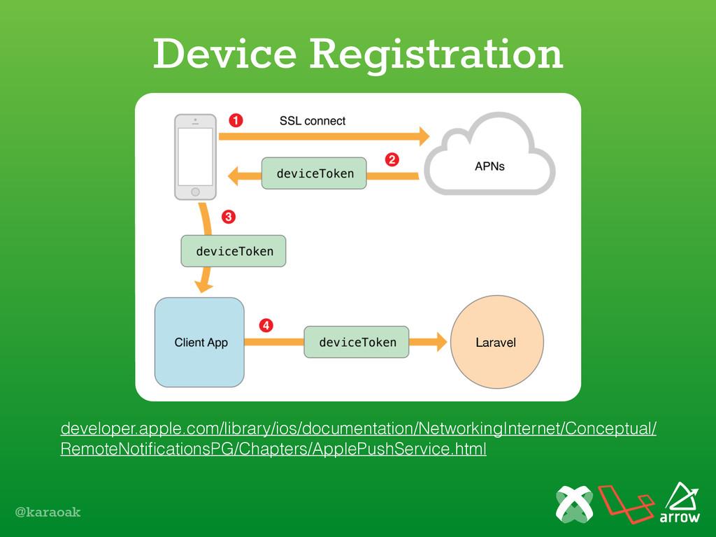 @karaoak Device Registration developer.apple.co...