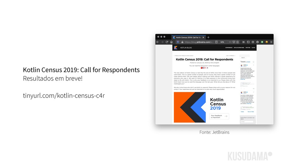 Kotlin Census 2019: Call for Respondents Result...