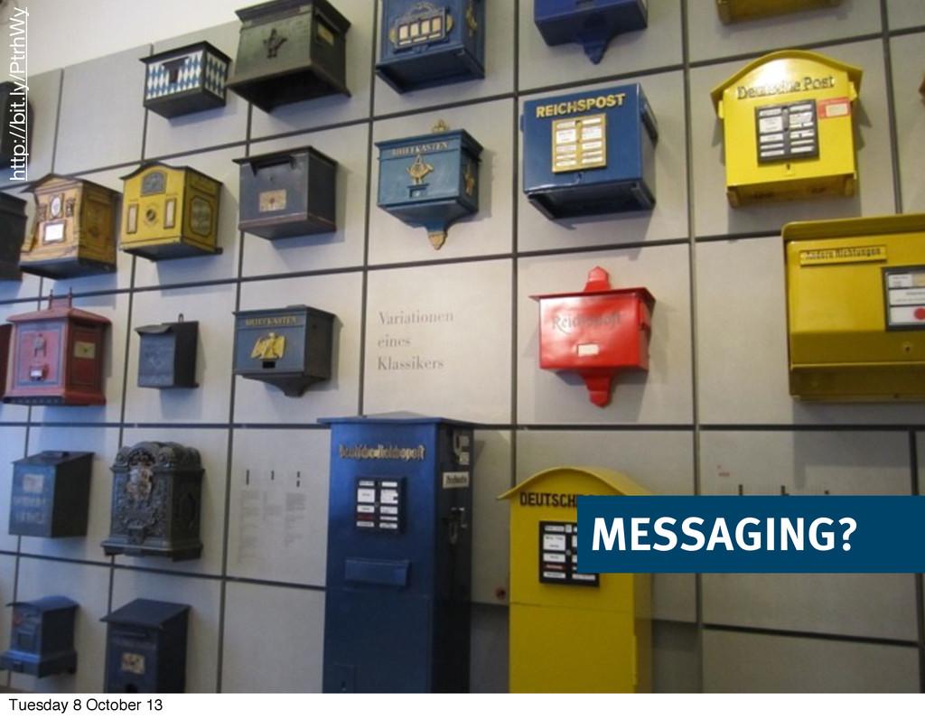 © 2013 innoQ Deutschland GmbH MESSAGING? http:/...