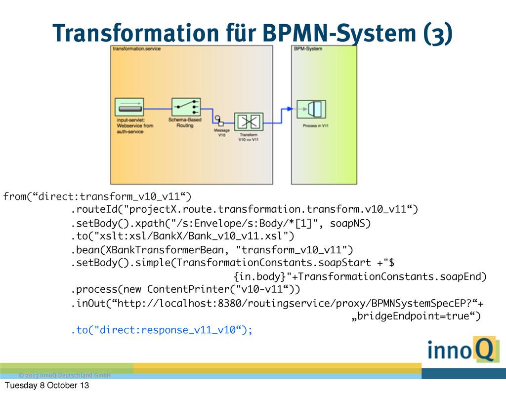 © 2013 innoQ Deutschland GmbH Transformation fü...