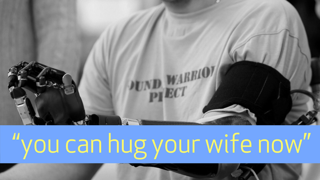"""""""you can hug your wife now"""""""