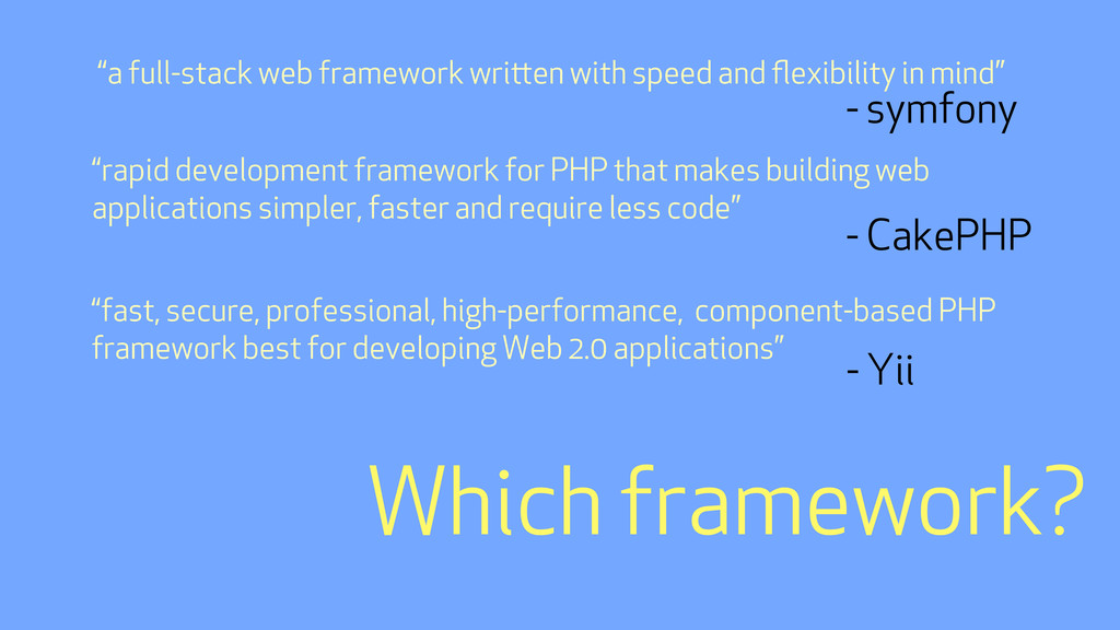 """""""a full-stack web framework wrien with speed a..."""