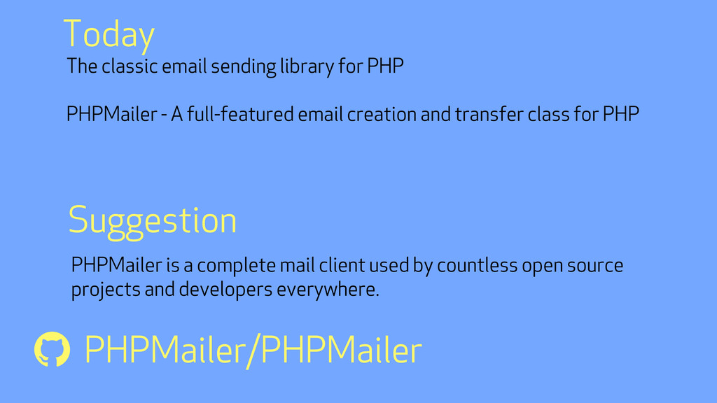 The classic email sending library for PHP PHPMa...